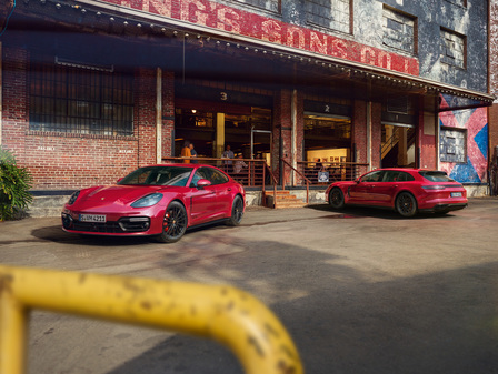 The new Panamera GTS models